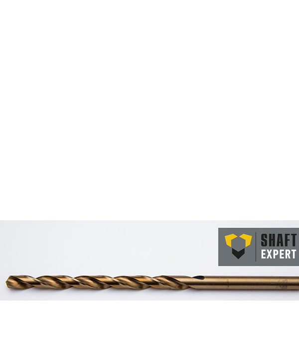 Сверло по металлу 11,0х195 мм, кобальтовое, удлиненное, Shaft