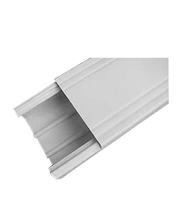Кабель-канал 100х60 мм белый ДКС 2м  заглушка legrand для кабель канала 40х12 5 белый 31204