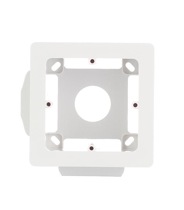 Коробка монтажная Viva для кабель-каналов ДКС универсальная 2 модуля белая  розетка телефонная для кабель канала дкс белая 1 модуль viva