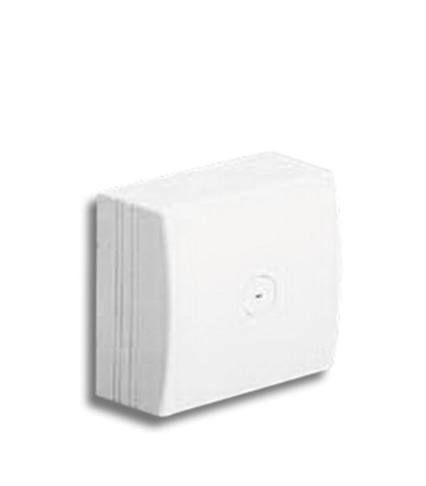 Коробка распределительная для кабель-каналов ДКС белая