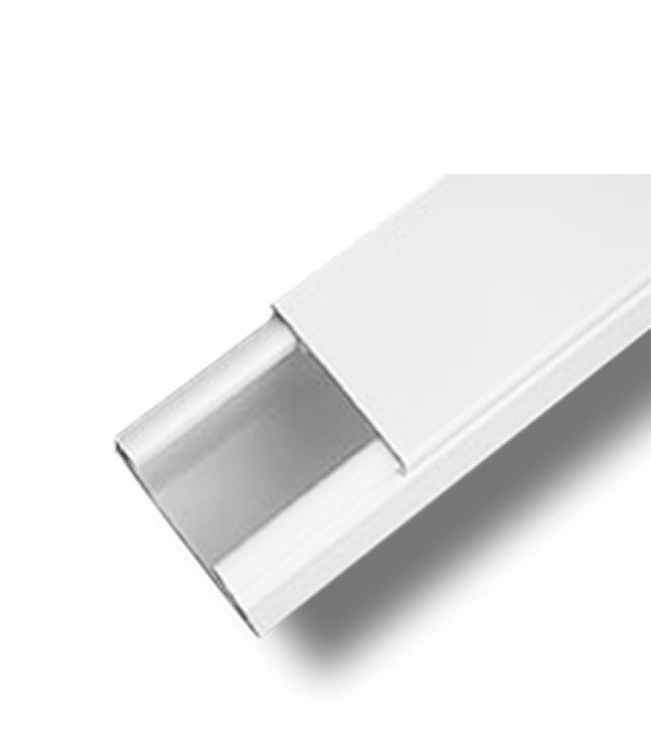 Кабель-канал  22х10 мм белый ДКС, 2 м