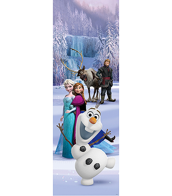 Фотообои 1х3 м 1 лист Disney Холодное сердце арт. 810105 OVK Design