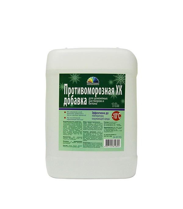 Противоморозная добавка для бетона Радуга Хлорид кальция 10 л форма для блоков для возведения стен купить москва