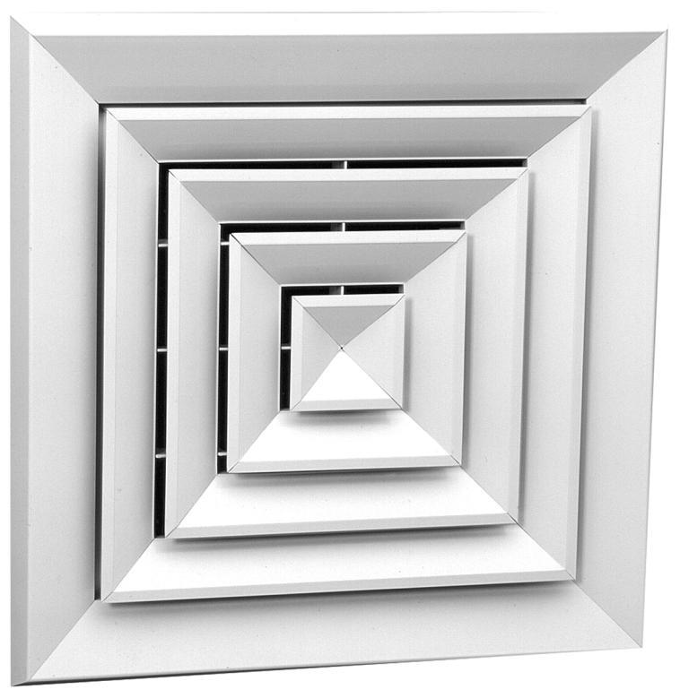 Диффузор потолочный квадратный ДП4 450х450 мм