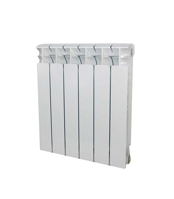 """Радиатор биметаллический 1"""" Rifar Base 500, 6 секций"""