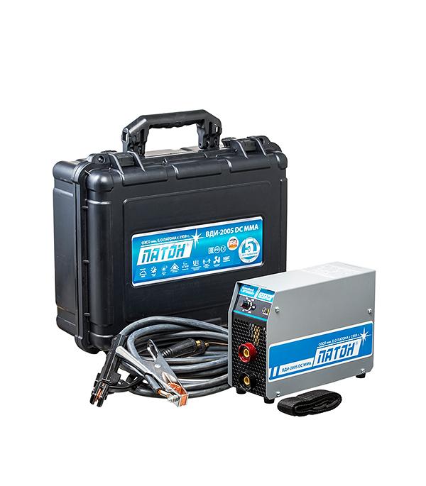 Сварочный аппарат (инвертор) ПАТОН BДИ-200S, 220В, 200 А, ПВ 40%, до 5,0 мм