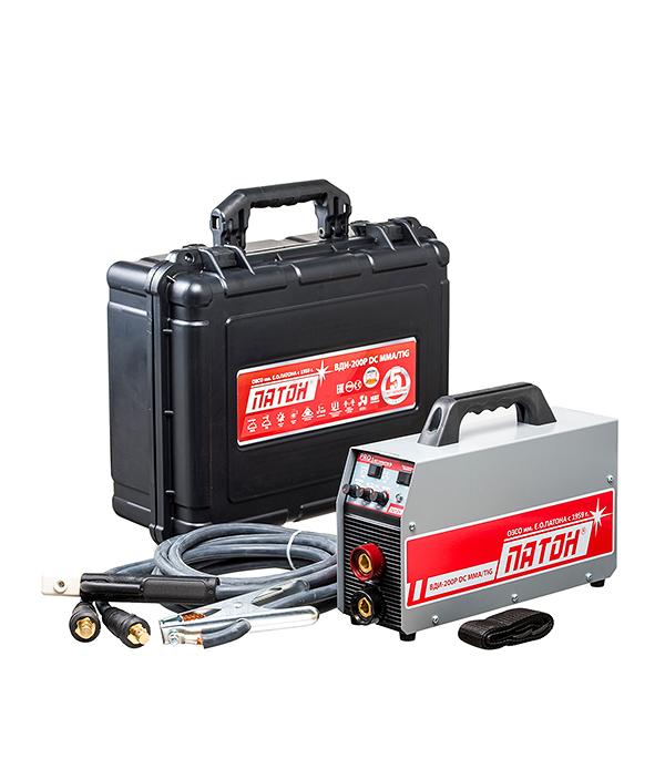 Сварочный аппарат (инвертор) ПАТОН BДИ-200Р, 220В, 200 А, ПВ 70%, до 5,0 мм