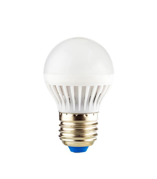 Лампа светодиодная E27 5W G45 2700K, теплый свет, REV светодиодная лампа no name 59 smd e27 230v 6 5w