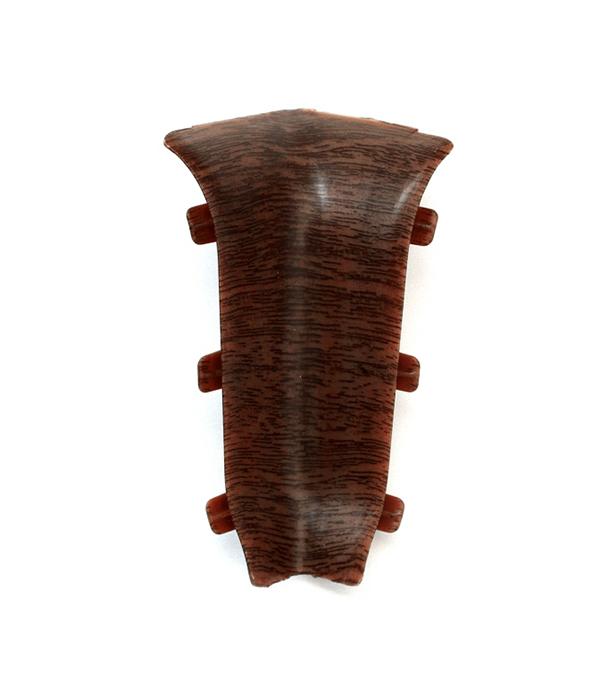 Угол внутренний Орех темный 67 мм 2 шт
