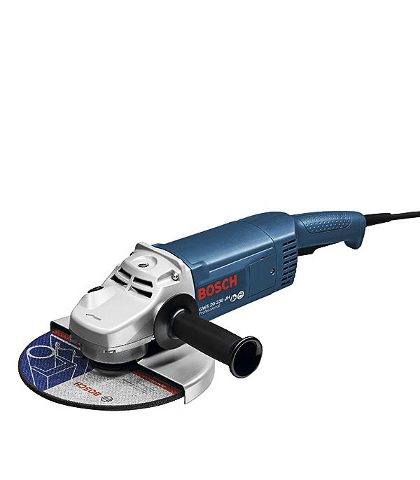 Шлифмашина угловая Bosch GWS 22-230 JH 2200 Вт 230 мм угловая шлифовальная машина bosch gws 20 230 h 0 601 850 107