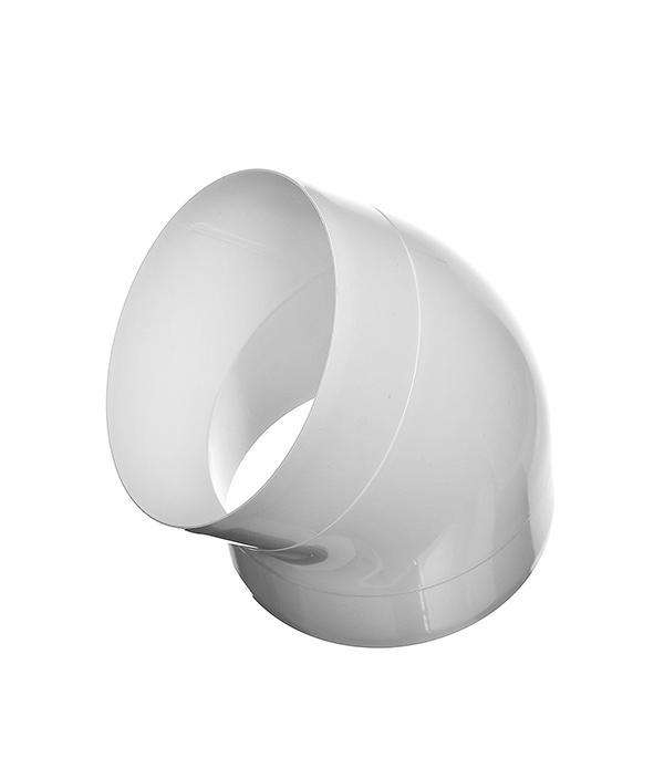 Колено для круглых воздуховодов пластиковое d100 мм, 45°