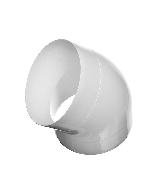 Колено для круглых воздуховодов пластиковое d125 мм, 45°