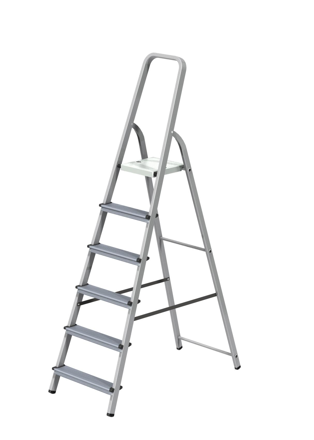 Стремянка комбинированная 6 ступени Новая высота Эконом