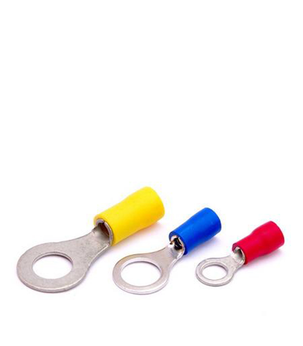 Наконечник кольцевой для провода 4-6 кв.мм, d=8 мм (100 шт.) ИЭК