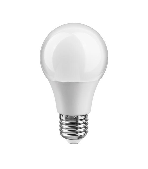 Лампа светодиодная E27 10W, A60 (груша), 4000K, дневной свет лампочка rev led a60 e27 7w 4000k premium filament холодный свет 32354 9