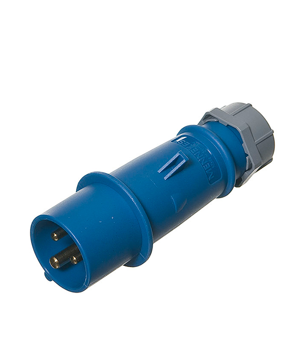 Вилка кабельная Mennekes 230В 2P+E 16А IP44  розетка бытовая 230в 2р 16а ip44 mennekes