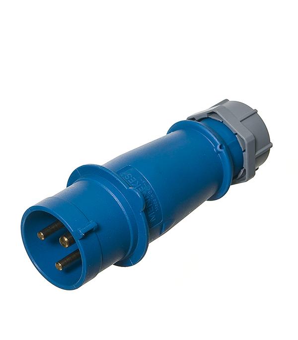 Вилка кабельная Mennekes 230В 2Р+E 32А IP44  розетка бытовая 230в 2р 16а ip44 mennekes