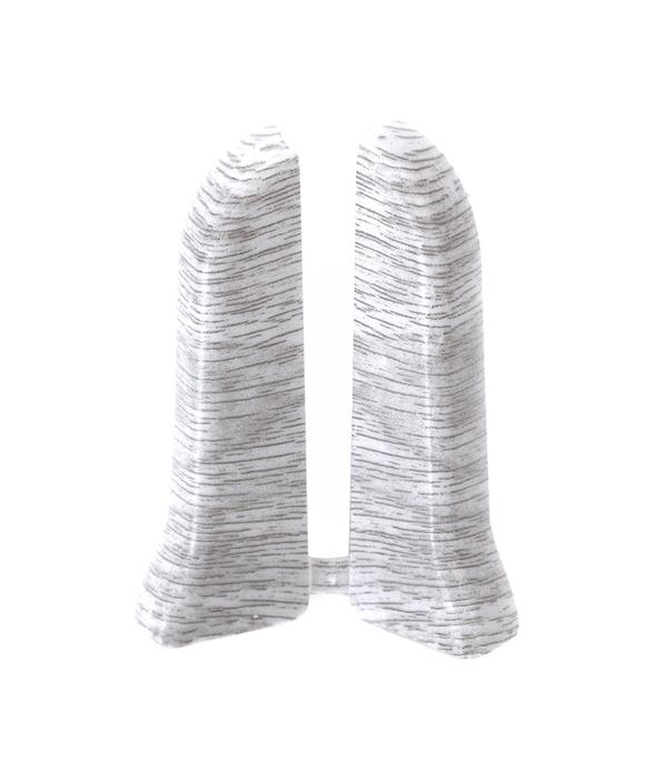 Заглушки торцевые (левая+правая) Дуб серый 67 мм