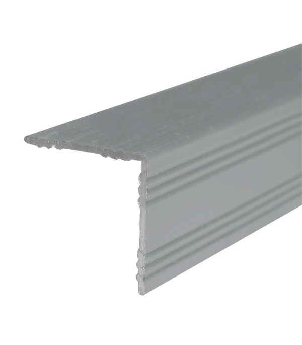 цена на Порог для кромок ступеней 19х19х900 мм Без покрытия