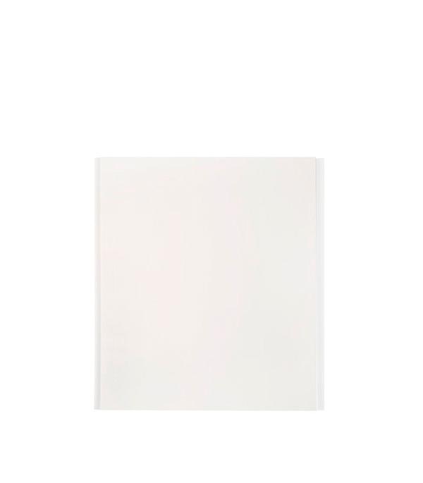Панель ПВХ белая матовая 375х3000х8 мм, Нордсайд