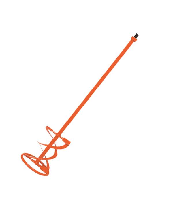 Миксер-насадка для строительных растворов 100х560 с резьбой М14, M-100R BL Rubi