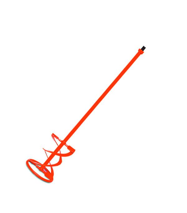 Миксер-насадка для строительных растворов 120х600 с резьбой М14, M-120R BL Rubi