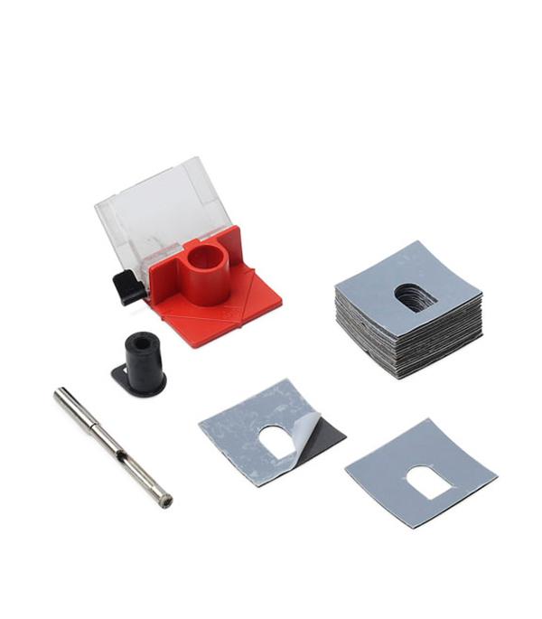 Коронка по керамике Rubi алмазная 6 и 10 мм набор (2 шт) маркер для отверстий rubi 70940