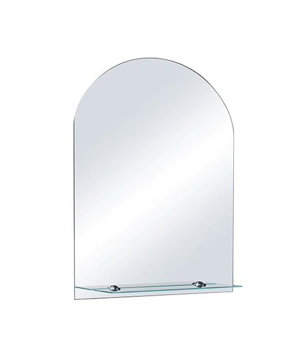 Зеркало Магнолия с полкой 700х500 мм аквамаста магнолия 50 с полкой и подсветкой