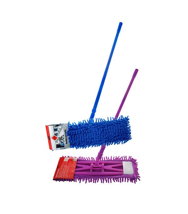 Швабра для пола 680 мм с насадкой шенилл швабра loks super cleaning с насадкой для отжима цвет розовый l10 2757 11