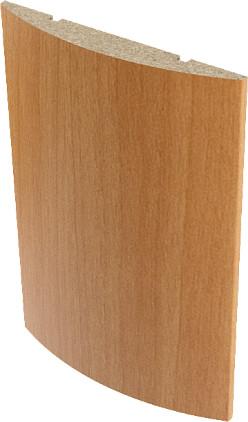 Наличник ламинированный полукруглый Верда Миланский орех 10х70 мм