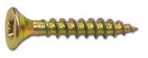 Саморезы универсальные   40х4,0 мм (200 шт) желтые