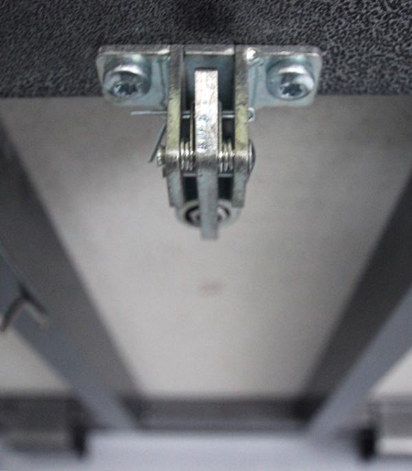 Люк ревизионный 600х600 мм напольный с амортизаторами стальной Практика