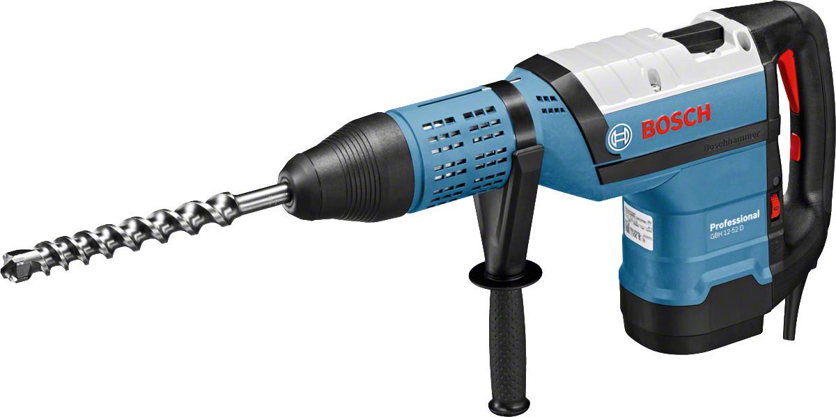 Перфоратор GBH 12-52 D 1700 Вт 19 Дж, SDS-max, Bosch