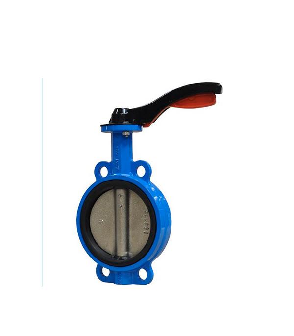 Затвор дисковый межфланцевый AquaFix PN16 Ду50 серый чугун фильтр фланцевый aquafix pn16 ду80 магнитно сетчатый ковкий чугун