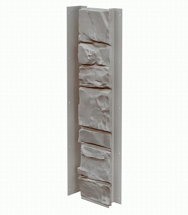 Фасадный угол внутренний (универсальная планка)  Vox  121х420 мм Камень цвет SPAIN / ИСПАНИЯ