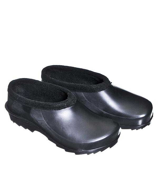 Галоши утепленные черные, размер 43