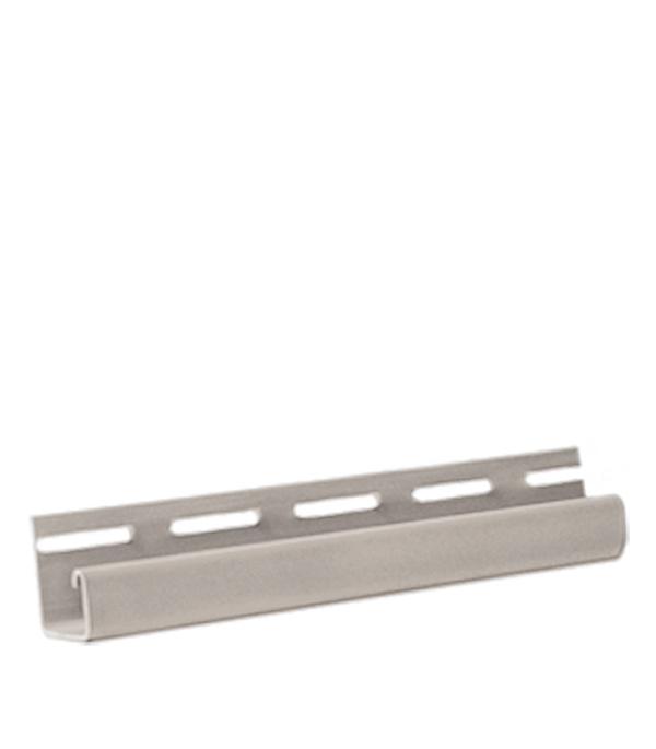 Фасадный J-профиль FineBer 3000 мм серый