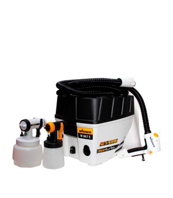 Краскораспылитель (краскопульт) 570 Вт, 1,3 л, 0-375 г/мин W867E All-Spray Wagner