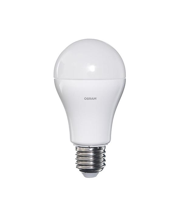 Лампа светодиодная E27, 12W, A100 (груша), 2700K (теплый свет), Osram