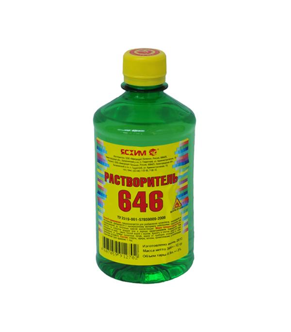 Растворитель Ясхим 646 0.5 л растворитель р4а в волгограде