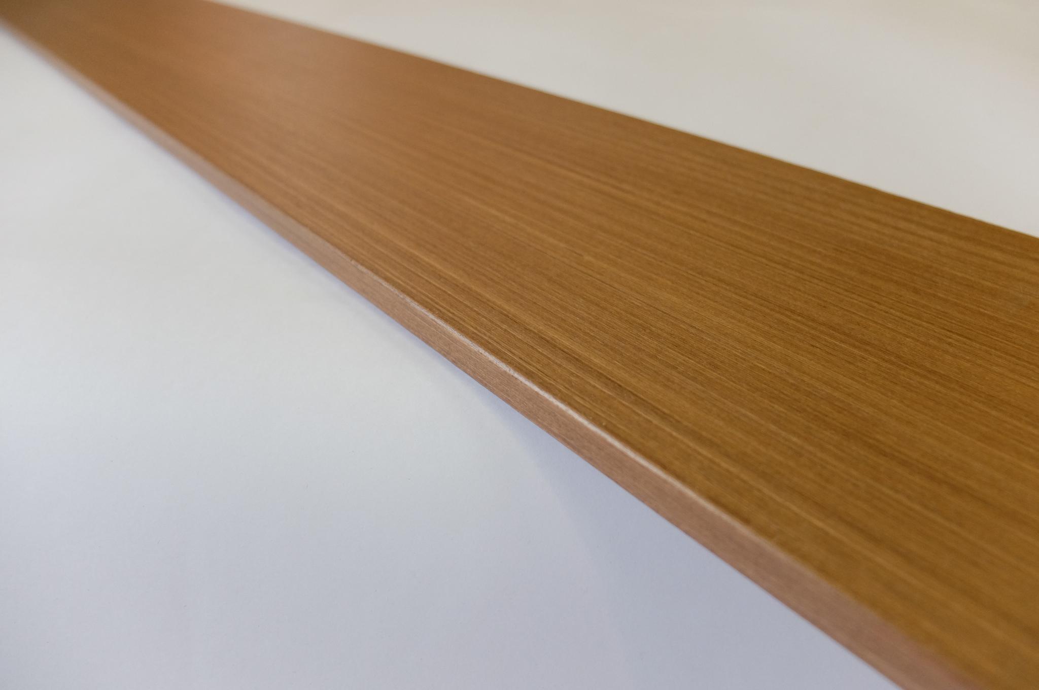Стойка доборной планки шпон ореха (150х2100х10)