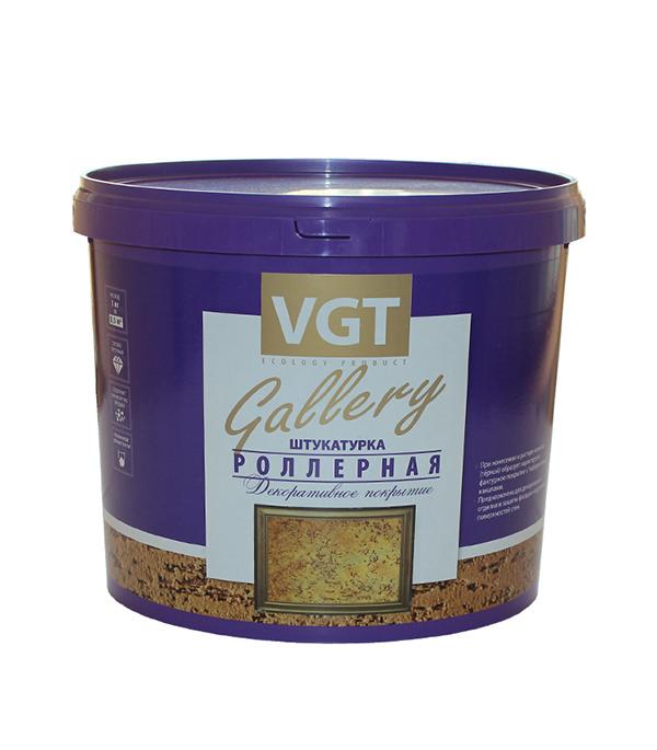 Роллерная штукатурка VGT Gallery короед фракция 1.5-2 мм 9 кг крошка мраморная красная фракция 10 20 мм 10 кг