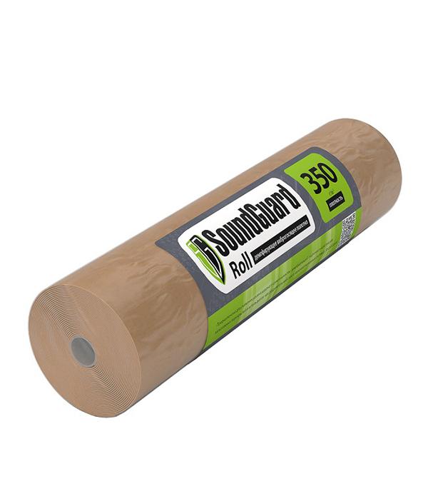 Подложка демпферная SoundGuard Roll 3,5 мм 15х1 м. пленка тонировочная главдор 15% 0 5 м х 3 м