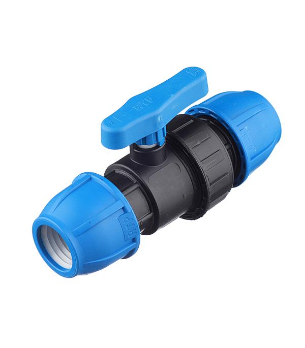 Кран шаровой компрессионный 32х32  мм, РТП кран шаровой компрессионный 20х3 4 вр ртп