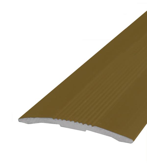 Порог стыкоперекрывающий 30х1800 мм Золото шарики прокладки железные круглые золото 5 мм диаметром отверстие 2 мм