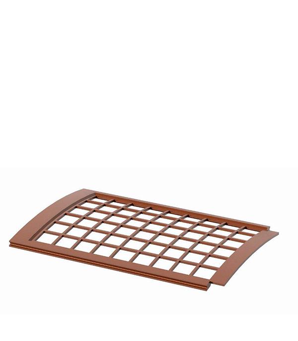 Решетка желоба защитная коричневаяТехнониколь