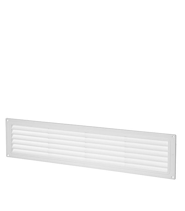 Решетка вентиляционная пластиковая дверная 462х124 мм Вентс