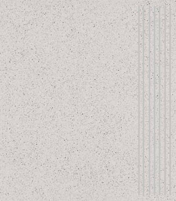 Керамогранит 300х300х8 мм Грес ступени светло-серый (14шт=1,26 кв.м)/Шахты
