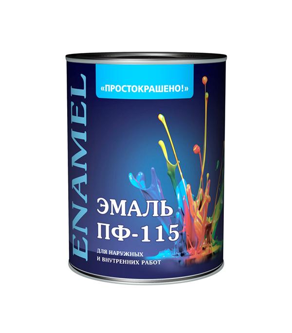 Эмаль ПФ-115 синяя Простокрашено 0,9 кг