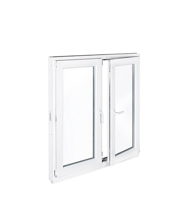 Окно металлопластиковое REHAU 1440х1160 мм белое 2 створки поворотно-откидное правое. поворотное окно металлопластиковое rehau 1440х1160 мм белое 2 створки поворотно откидное правое поворотное
